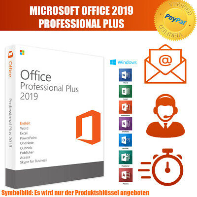 Microsoft Office 2019 Professional Plus(MS Office 2019 ProPlus) Software Key