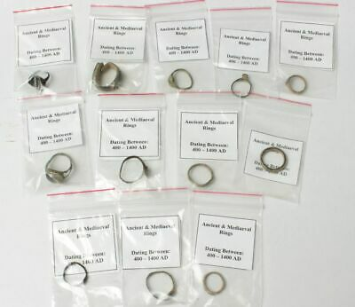 Ancient & medieval rings from ca 400 to ca 1400AD. Roman through to Byzantine.