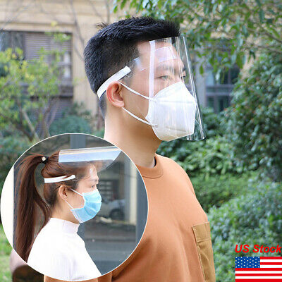 Safe Anti-fog Full Face Shield With Clear Face Transparent Work Industry Dental