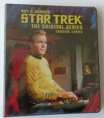 Art & Images Star Trek The Original Series      Full Base Set & Binder