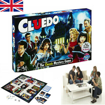 2020 NEW Cluedo The Classic Mystery Board Game Perfect For Family Game Funny