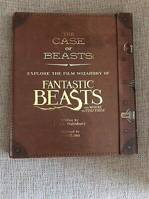 Harry Potter Fantastic Beasts Collectible Book
