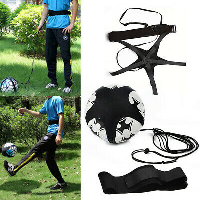 Self Training Football  Kick Practice Trainer Aid Equipment Waist Belt Returner