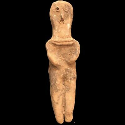 Ultra Rare Huge Stone Age Ancient Neolithic Anthropomorphic Idol 4500BC (2)