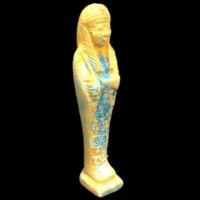 ANCIENT EGYPTIAN HIEROGLYPHIC SHABTI (3) Large 18.3 cm !!!!