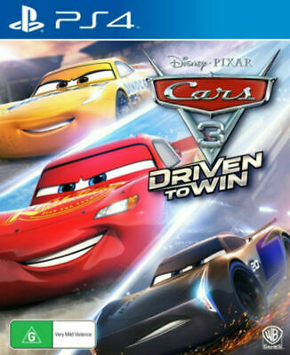 Cars 3: Driven to Win PS4 Game ENG + 6 Months Replacement Warranty