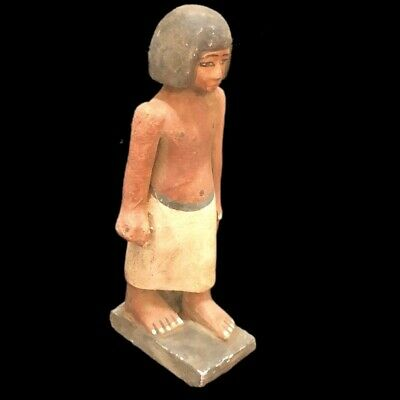 Beautiful Ancient Egyptian Wooden Statue 300 Bc (1) Large !!!!!