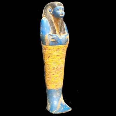 ANCIENT EGYPTIAN HIEROGLYPHIC SHABTI (8) Large 22 cm !!!!