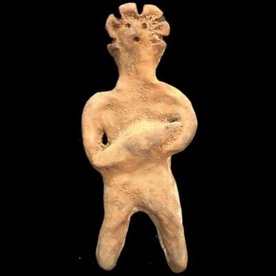 Ultra Rare Huge Stone Age Ancient Neolithic Anthropomorphic Idol 4500BC (5)