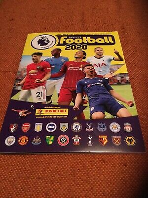 Panini Football 2020 Official Premier League Sticker Album Mint But No Stickers