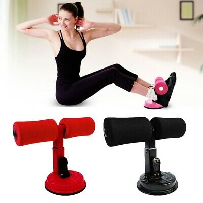 Adjustable Suction Cup Sit-up Push Up Bar Stand Strength Training Gym Exercise