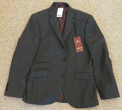 "Next Slim Fit Suit Jacket Mens / Boys BNWT Grey. 40""."
