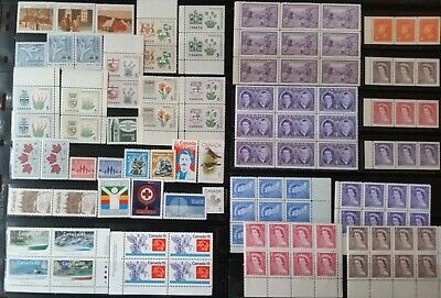 Lot of Canada Old Stamps MNH/Used