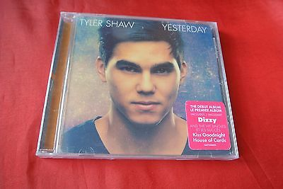 Yesterday by Tyler Shaw (CD, Sep-2014) Import Canada CD NEW