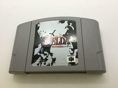N64 The Legend of Zelda Ocarina NINTENDO Cleaned Tested Authentic YP6377