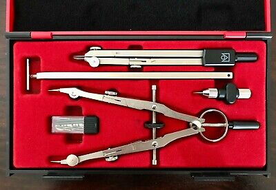 Vintage Original Kin Drawing Sets Compass Made in Czech Republic