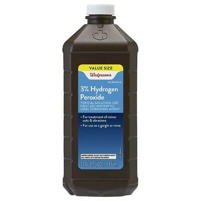 Hydrogen Peroxide Antiseptic 3% First Aid Antiseptic 32oz each