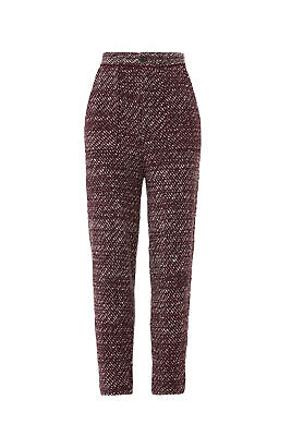 Free People Women's Dress Pants Red Size XS Stretch Cozy Knit $148- #594