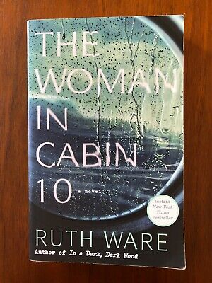 VGC The Women In Cabin 10: A Novel by Ruth Ware PB 2017