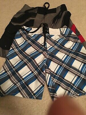 Boys 2 x Swimmers Size 7