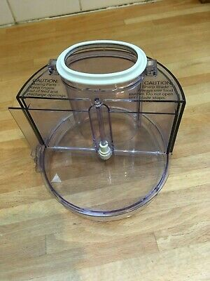 Braun Multipractic Spare Part, Large Filling Funnel / Wide Feed Lid, Great Cond