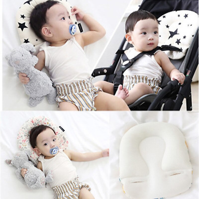 Newborn Baby Stroller Pillow Infants Printed Shaping Cushion Sleep Neck Supports