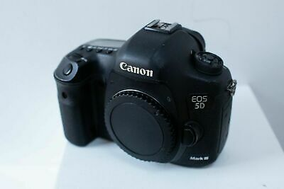 Canon EOS 5D Mark III 22.3MP Digital SLR Camera - Black (Body Only)(NO RESERVE)