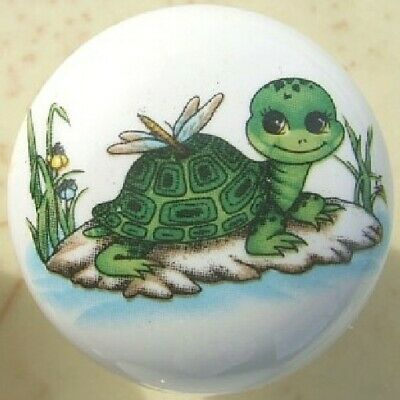 Cabinet Knobs Cute Turtle