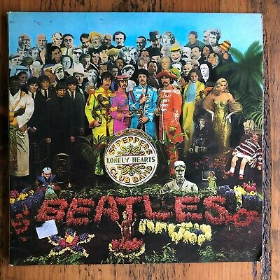 The Beatles - Sgt. Pepper's Lonely Hearts Club Band - LP Record Vinyl Album