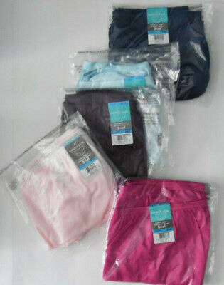 5 Colors Vanity Fair Full Brief Panty Lot Set Silky Soft Nylon 15712 9 2XL NWT