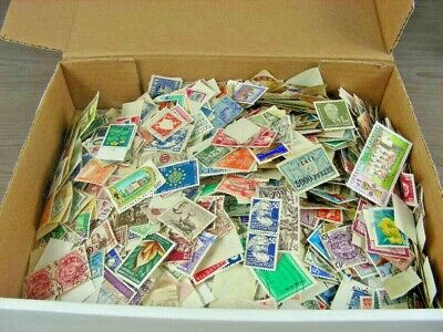 WW, BRITISH COLONIES, 3000+ UNSORTED stamps