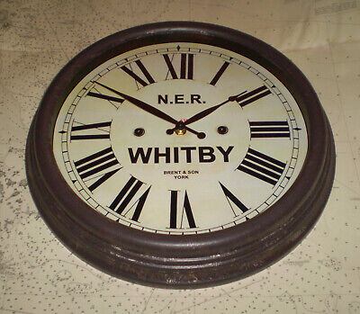 North Eastern Railway NER Victorian Style Clock, Whitby Station