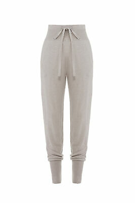 Josie Natori Womens Pants Gray Size Small S Jogger Tapered Drawstring $110- #029