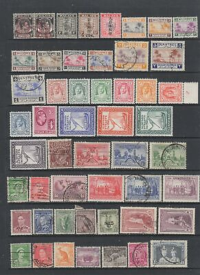 British Commonwealth KGVI MH and Used collection, 97 stamps