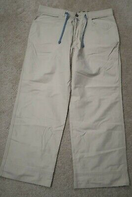 - Womens pants size 12 HORNY TOAD tan cotton/nylon wide-loose