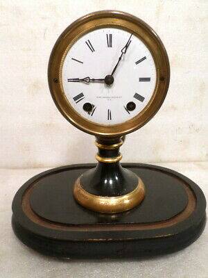 Very Interesting Seth Thomas & Sons Signed Candle Stick Pendulum Driven Clock