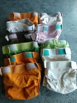 Lot Of G Diapers 11 Reusable Clothe Diaper Covers 9 Large 2 Medium L/M