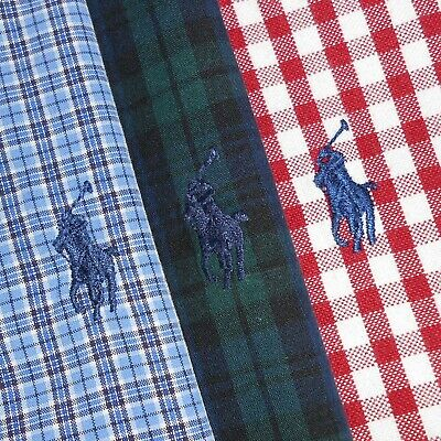 LOT OF THREE (3): Men's XL Polo Ralph Lauren Long Sleeve Button-Front Shirts PRL