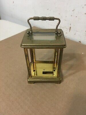 Antique French Brass Carriage Clock Case Parts Restoration Project