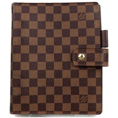 Louis Vuitton Diary Cover Agenda GM Browns Damier 818459
