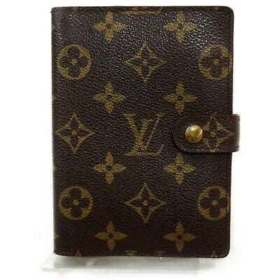 Louis Vuitton Diary Cover Agenda PM R20005 Browns Monogram 1121129