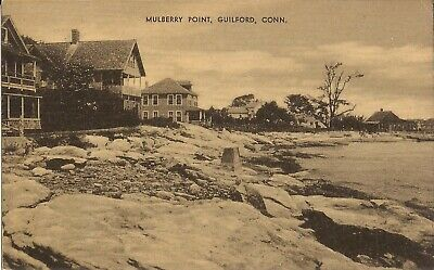 Guilford, CONNECTICUT - Mulberry Point - Long Island Sound