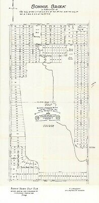 Chicago 1923 Map In Waukegan, IL, For Ancestry/Genealogy & History Research