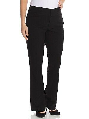 XOXO Pants Black Size 13/14 Junior Welt Pocket Straight Leg Stretch $39 #046