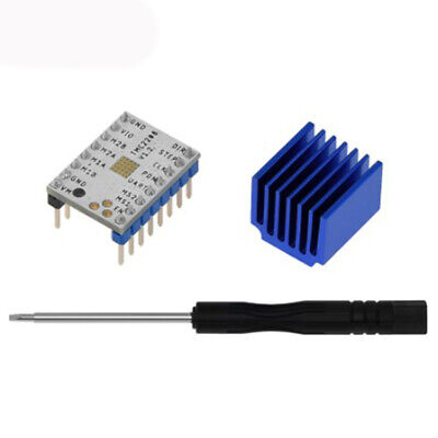 Stepper motor 5pcs TMC2208 Motor Driver For 3D Printer With Heat Sinks Durable
