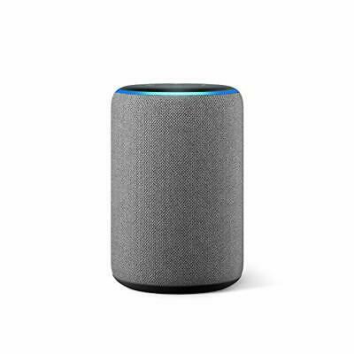 All-new Amazon Echo (3rd generation) | Smart speaker with Alexa, Heather Grey