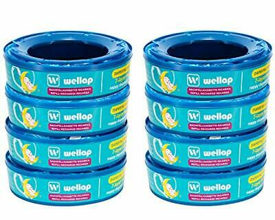 Nappy Disposal Refill Cassettes Compatible with Angelcare Diaper Disposal System