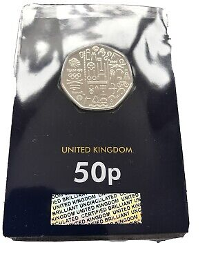 2020 Team GB Olympic Games Tokyo Fifty Pence 50p Coin Brilliant Uncirculated BU