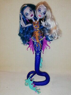 Monster High Peri and Pearl Ex-Display. 2 PERFECTLY GHASTLY HEADS 1 GREAT PRICE!