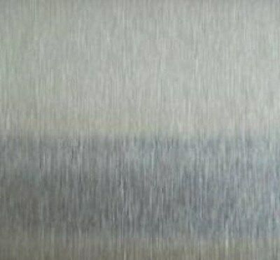 """Alloy 304 #3 Brushed Stainless Steel Sheet - 24g x 24"""" x 48"""" (Surplus Material)"""